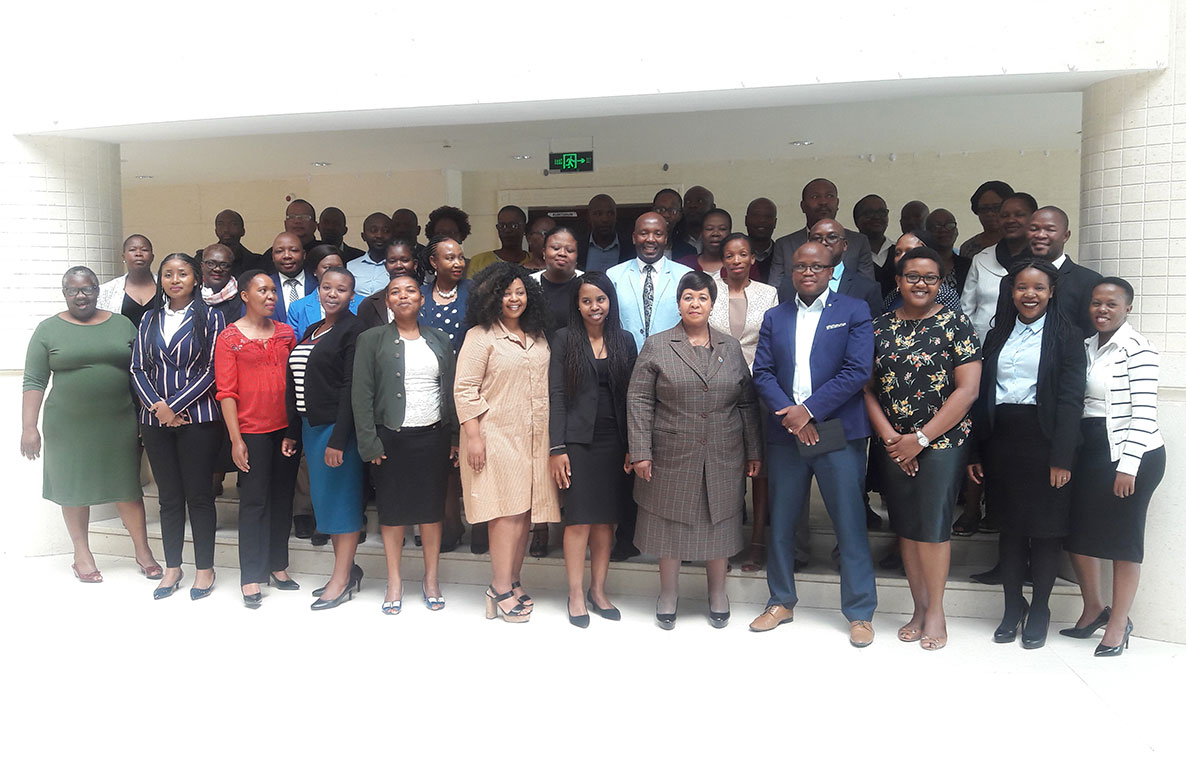 AFROSAI-E Trains Auditors on Financial and Compliance Manuals